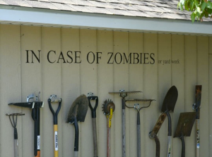 Improvised Zombie Weapons