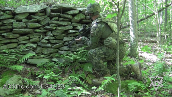 Commercial Paramilitary CamoUs4ces Woodland