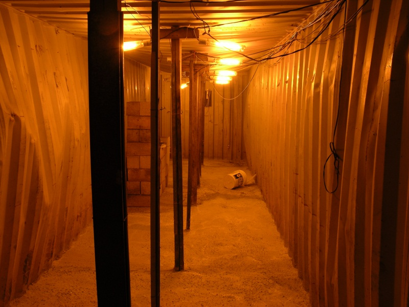 Storage Container Shelter : Shipping containers for bunkers