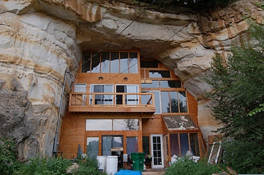 Cave homes for Building a house in the mountains