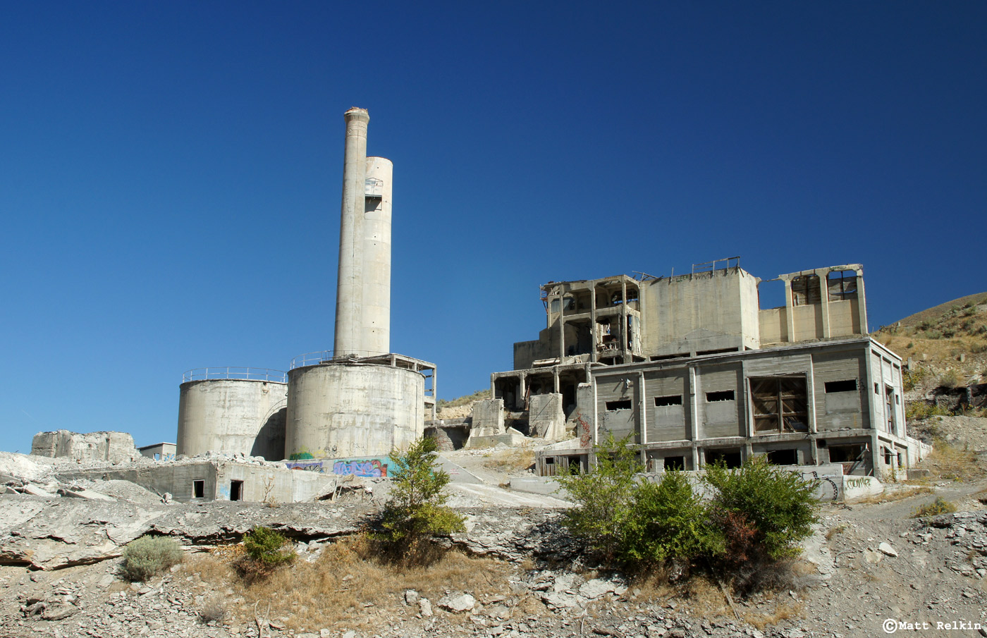 Abandoned Cement Factory : Lime oregon